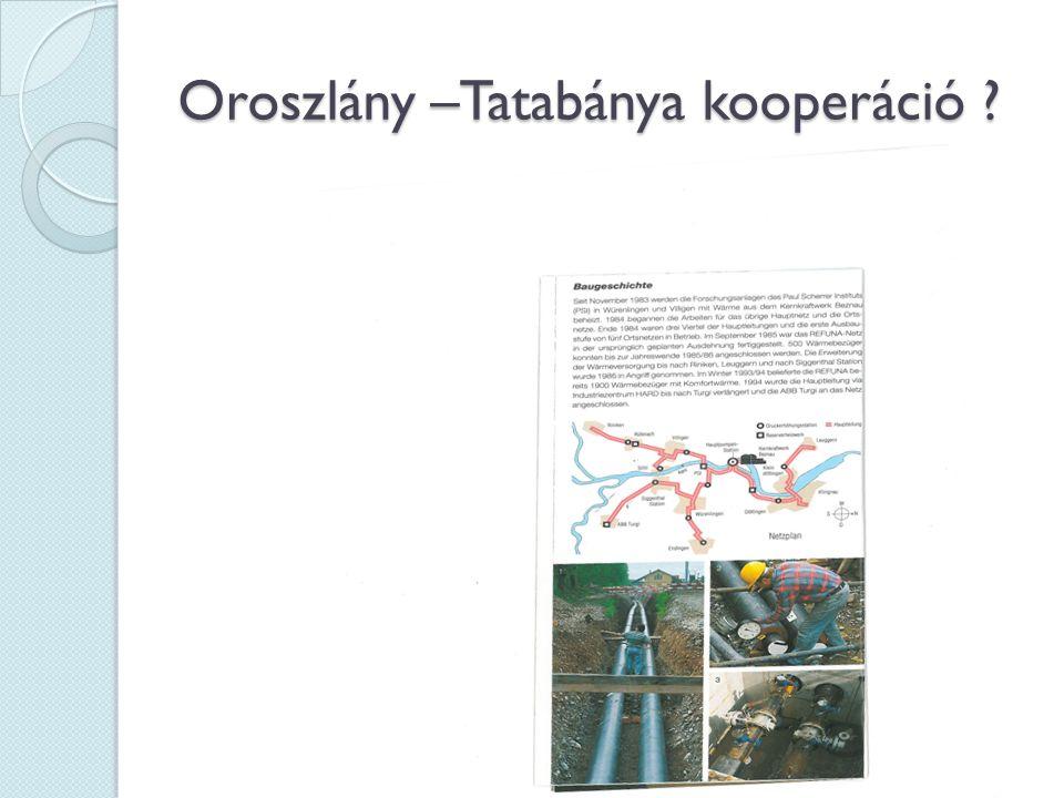Oroszlány –Tatabánya kooperáció