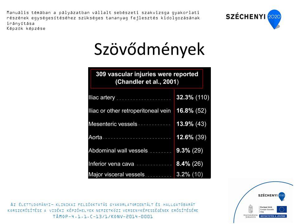 Szövődmények 19 Manuális készségfejlesztő tanfolyam 2014.