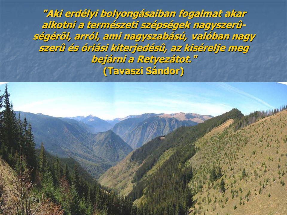 Retyezát-hegység A Retyezát-hegység románúl Munţii Retezat a Déli Kárpátok része.