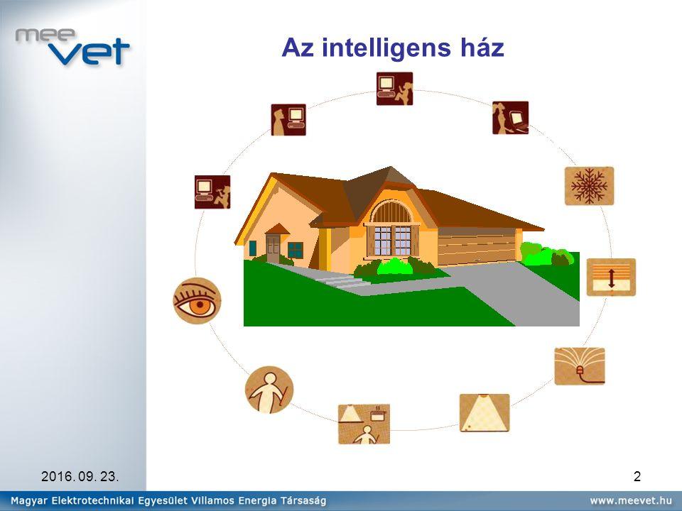 2016. 09. 23.2 Az intelligens ház komfort