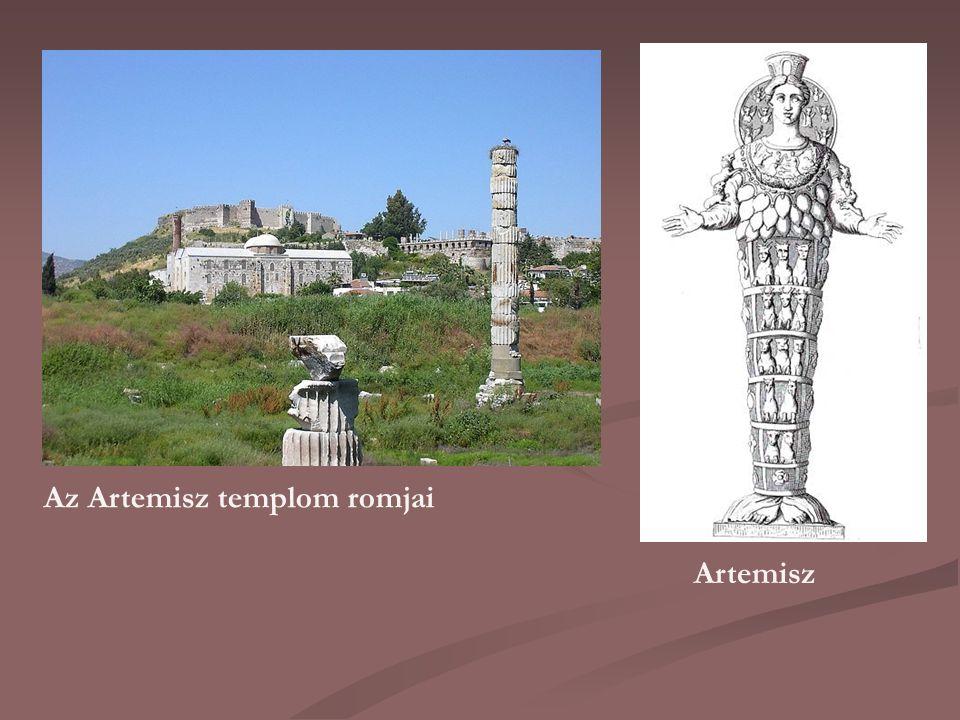 Az Artemisz templom romjai Artemisz