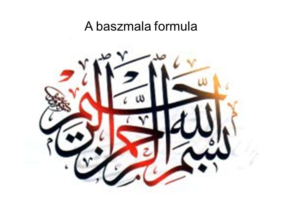 A baszmala formula