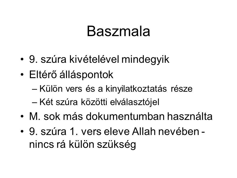 Baszmala 9.