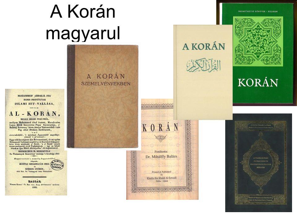 A Korán magyarul