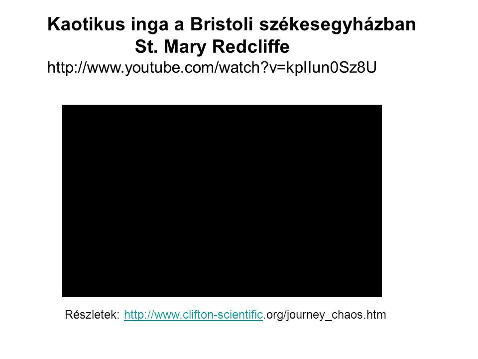 Kaotikus inga a Bristoli székesegyházban St. Mary Redcliffe http://www.youtube.com/watch?v=kpIIun0Sz8U Részletek: http://www.clifton-scientific.org/jo