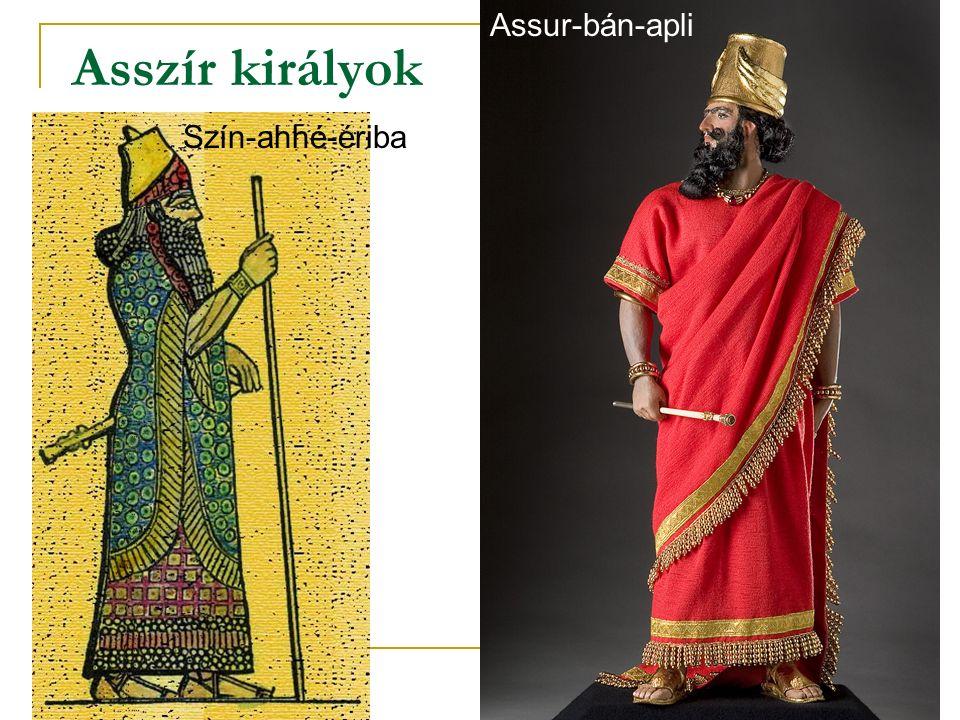 Asszír királyok Assur-bán-apli Szín-ahhé-ériba