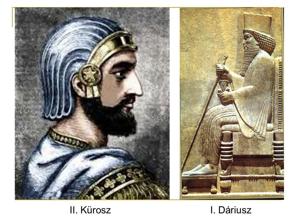 II. KüroszI. Dáriusz