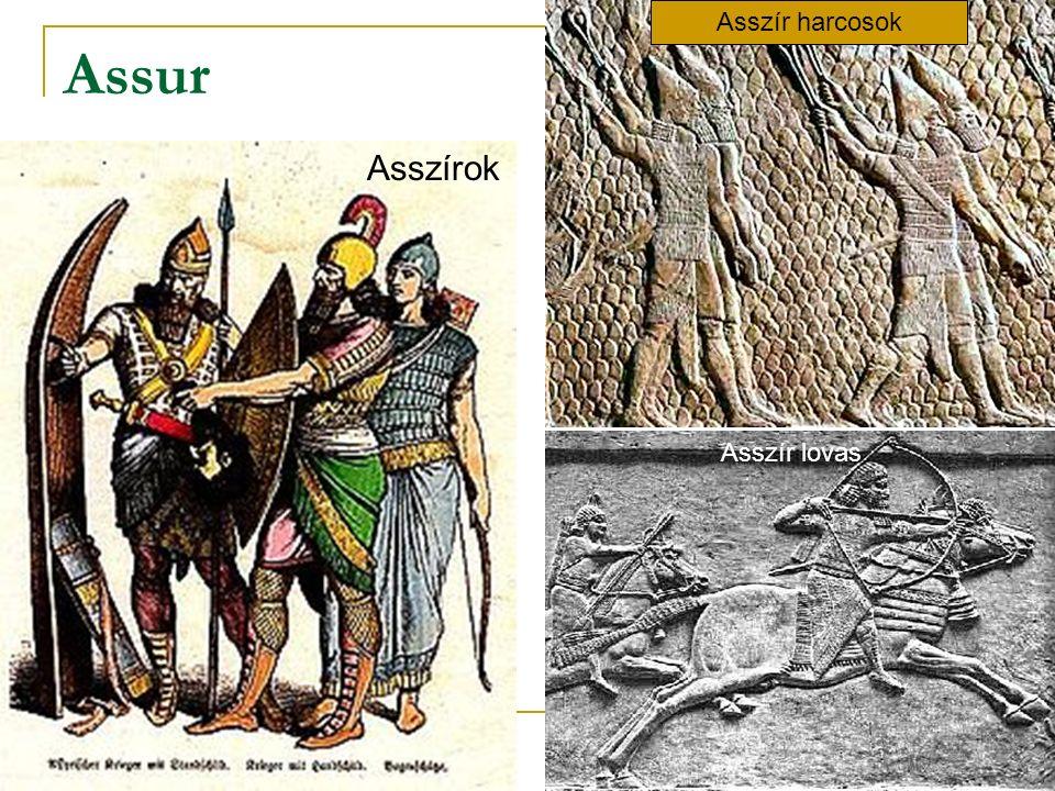 Assur Asszírok Asszír harcosok Asszír lovas