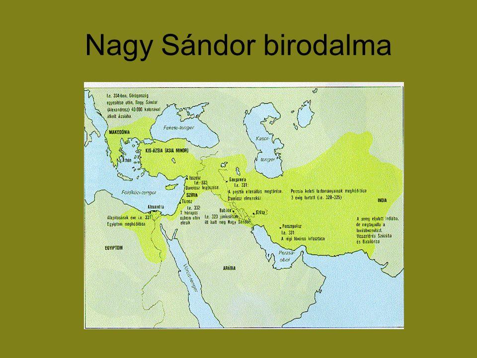 Nagy Sándor birodalma