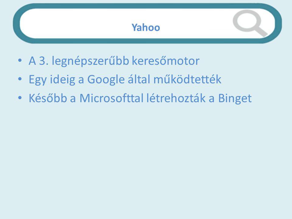 Yahoo A 3.