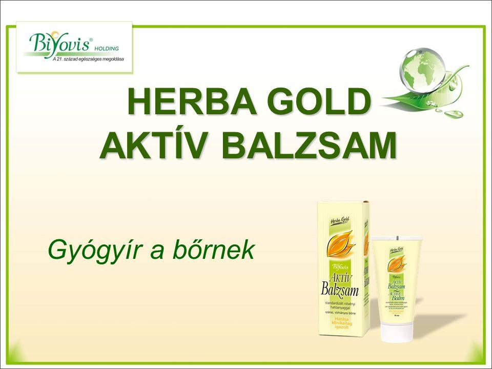 HERBA GOLD AKTÍV BALZSAM Gyógyír a bőrnek