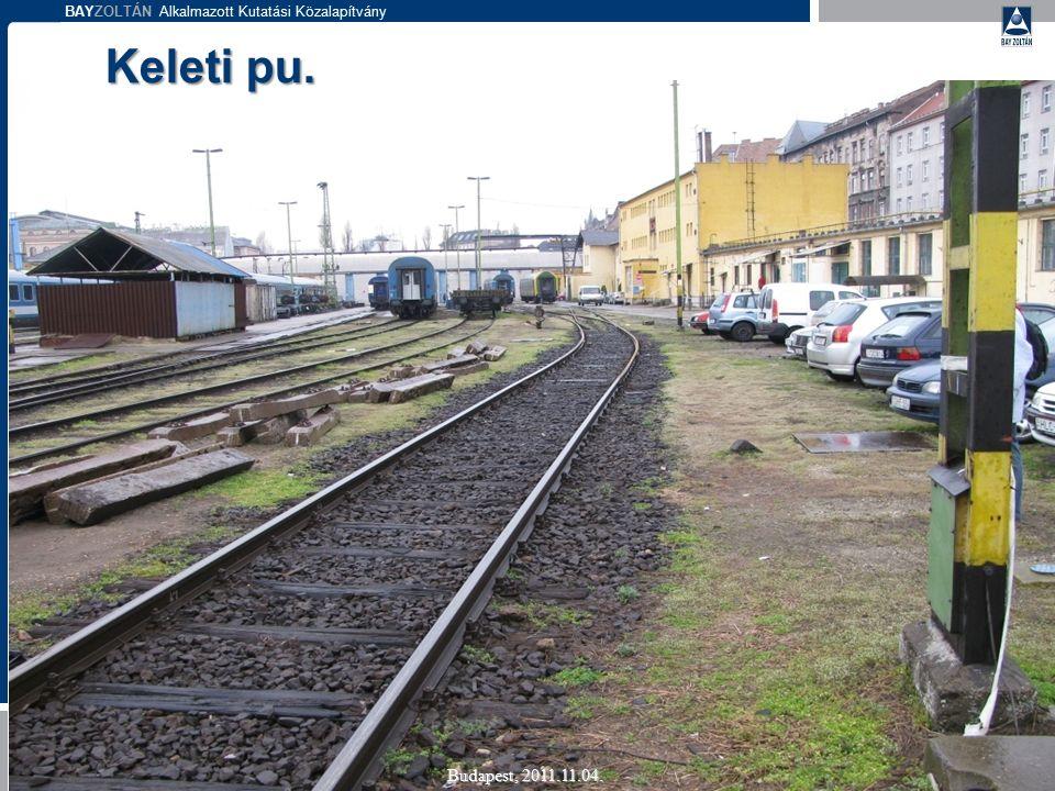 BAYZOLTÁN Alkalmazott Kutatási Közalapítvány Keleti pu. Budapest, 2011.11.04.