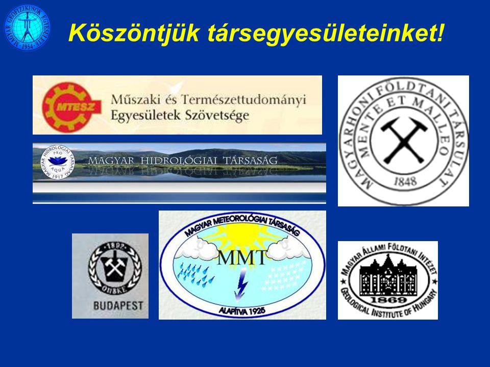Föld Bolygó Nemzetközi Éve 100 éves az ELGI 50 éves a nagycenki obszervatórium Vándorgyűlés, Sopron, szeptember 20 – 22 A 2007.