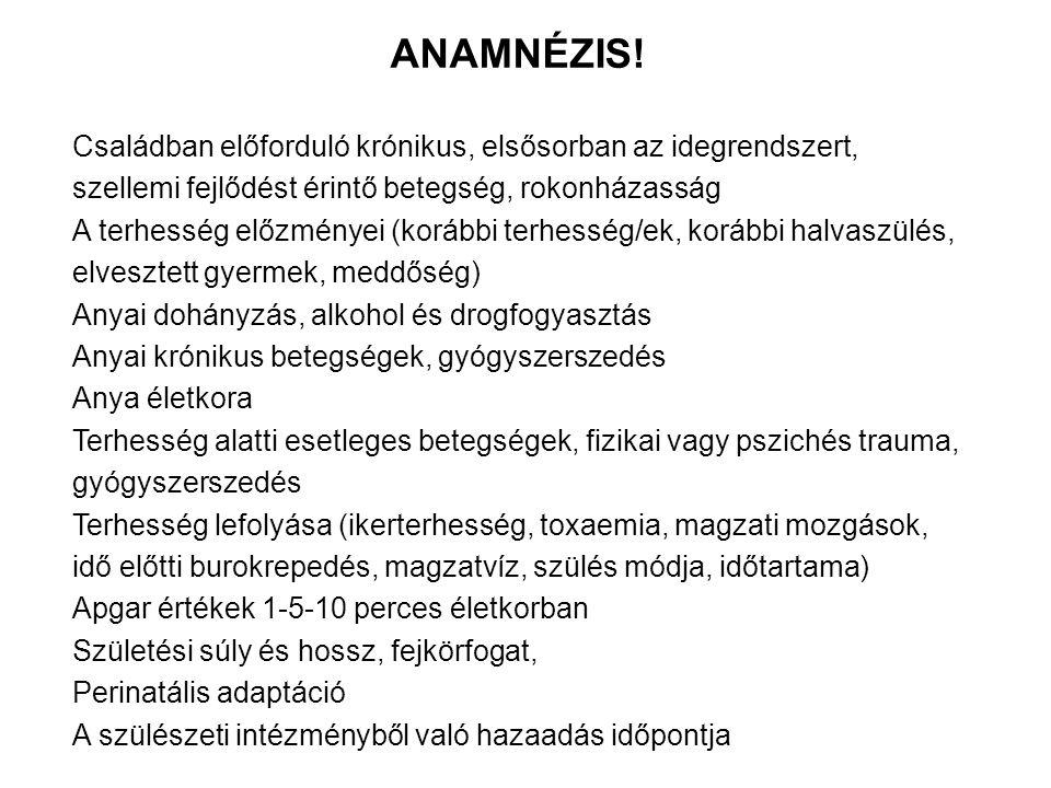 ANAMNÉZIS.