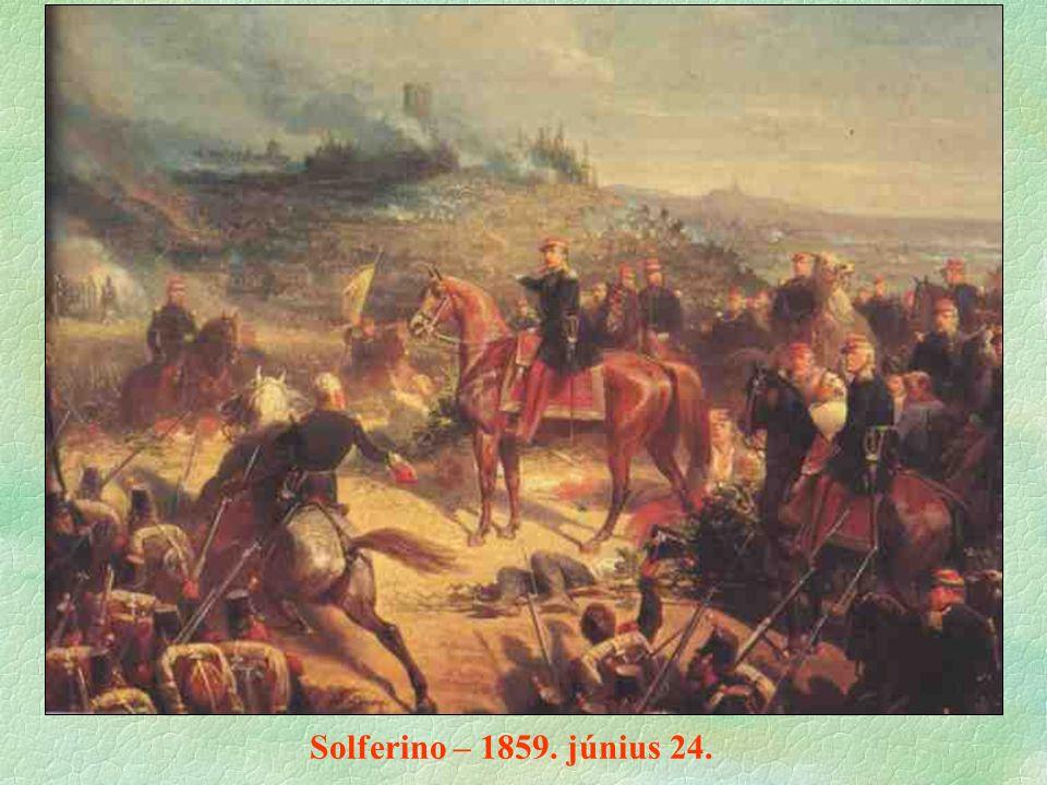 Solferino – 1859. június 24.