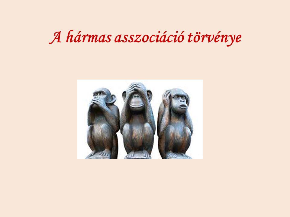 A hármas asszociáció törvénye