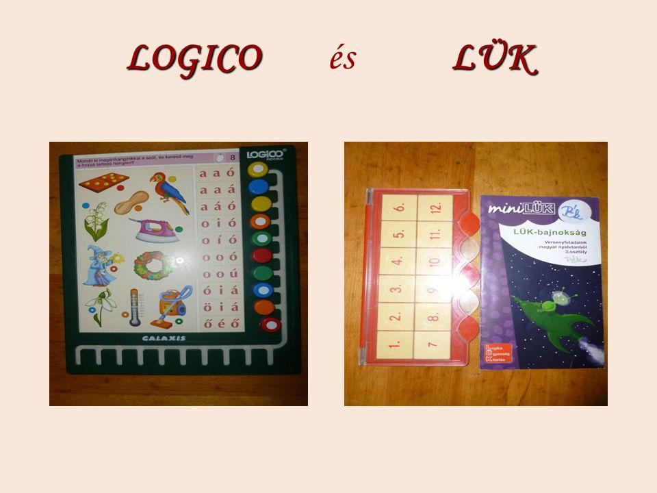 LOGICO LÜK LOGICO és LÜK
