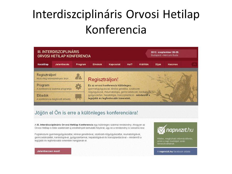 Interdiszciplináris Orvosi Hetilap Konferencia