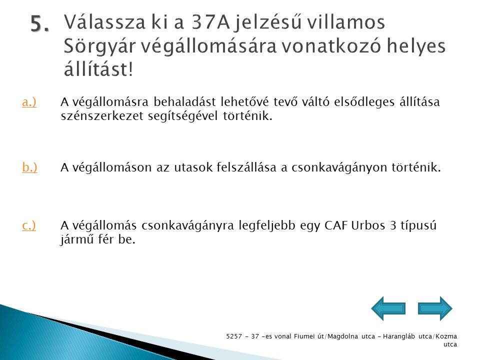 5257 - 37 -es vonal Fiumei út/Magdolna utca - Harangláb utca/Kozma utca 5.