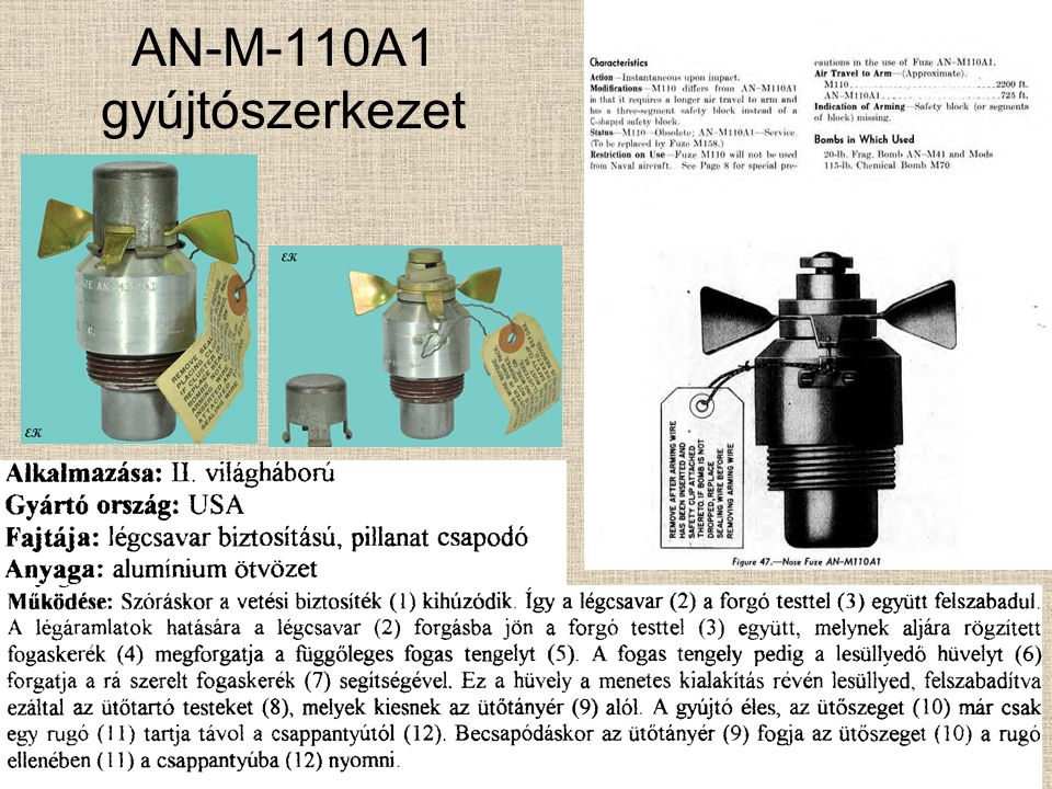 M-110 gyújtószerkezet