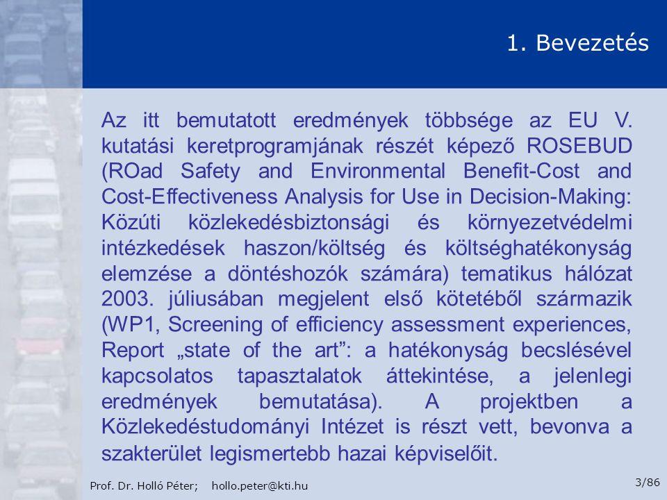 Prof.Dr. Holló Péter; hollo.peter@kti.hu 4/86 1.