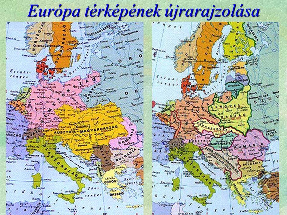 Európa térképének újrarajzolása