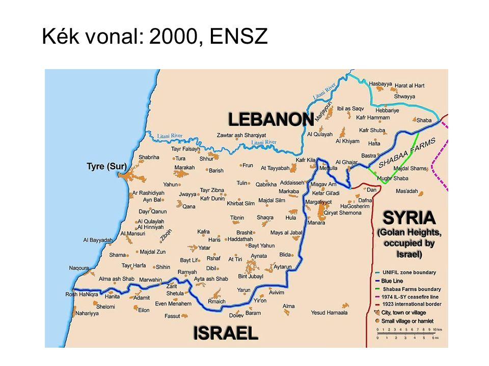 Kék vonal: 2000, ENSZ