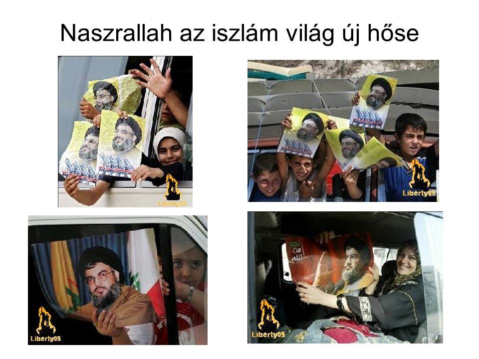 Naszrallah az iszlám világ új hőse