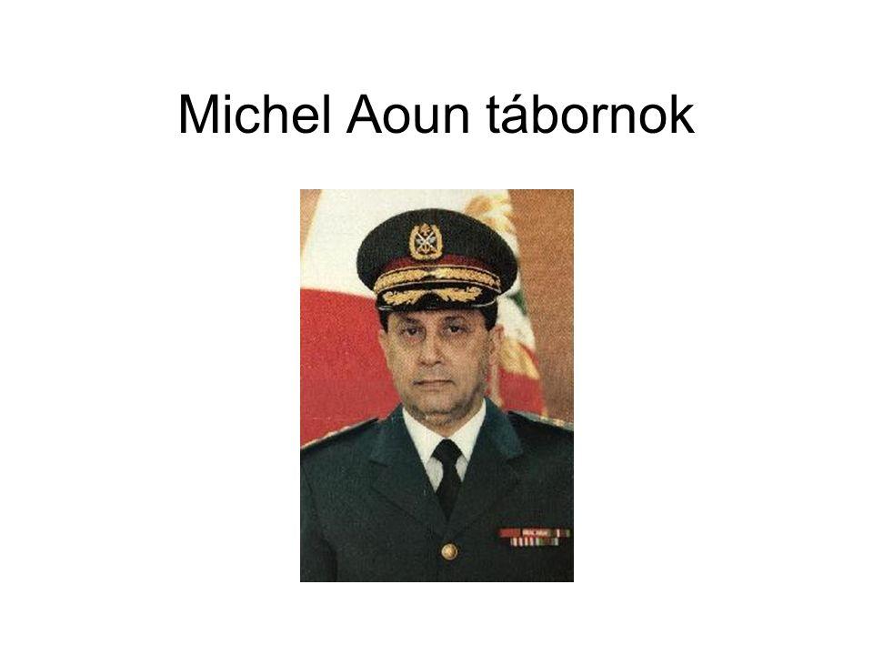 Michel Aoun tábornok