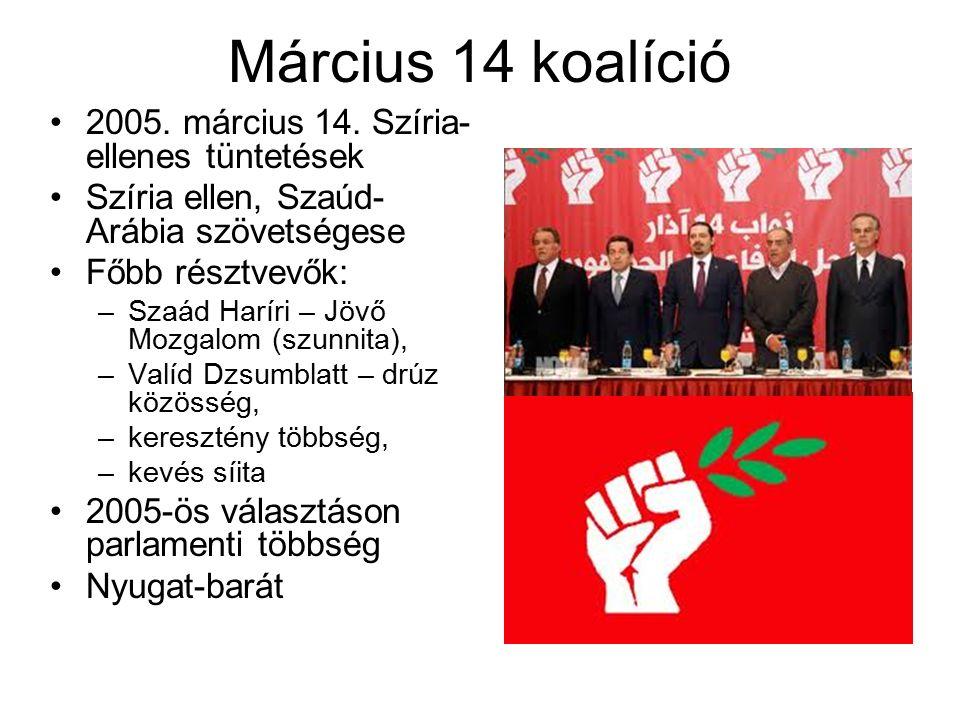Március 14 koalíció 2005. március 14.