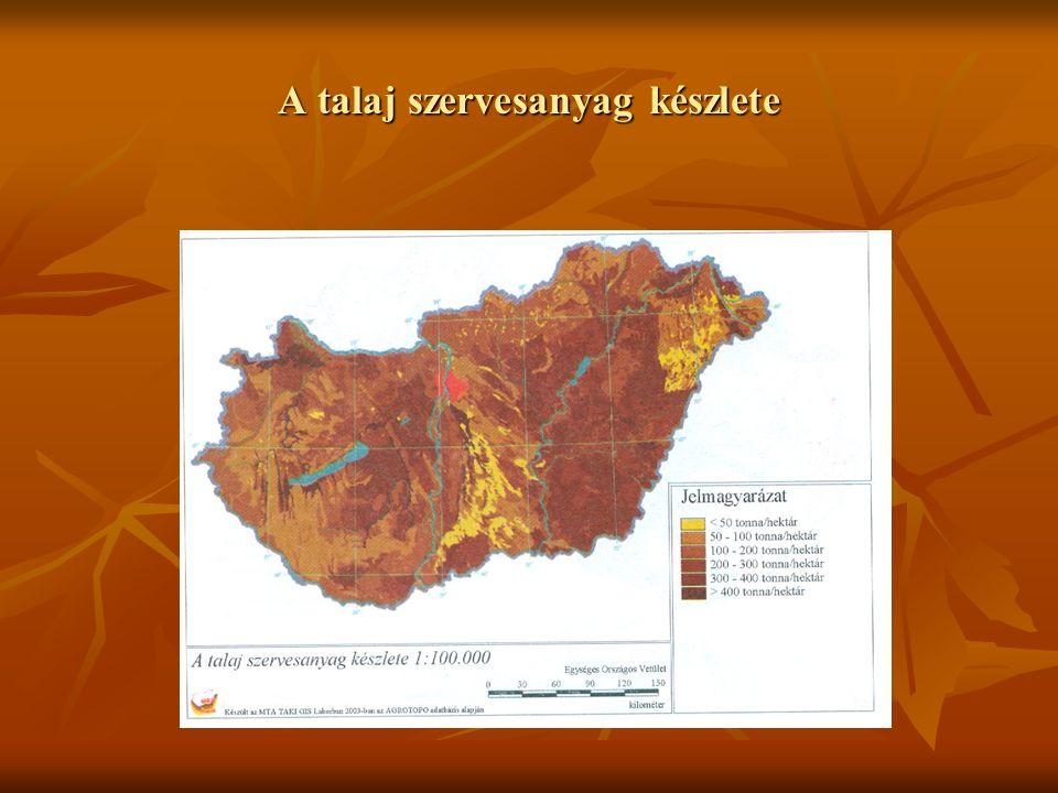 Talajdegradációs régiók Magarországon