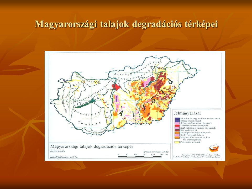 Magyarországi talajok érzékenységi térképei