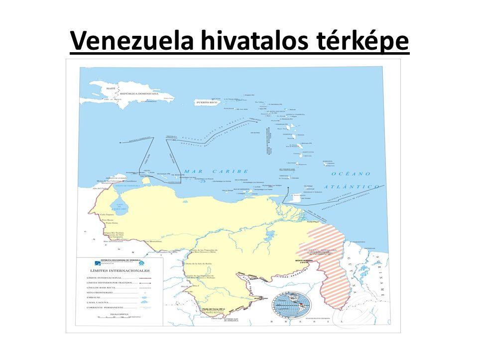 Venezuela hivatalos térképe