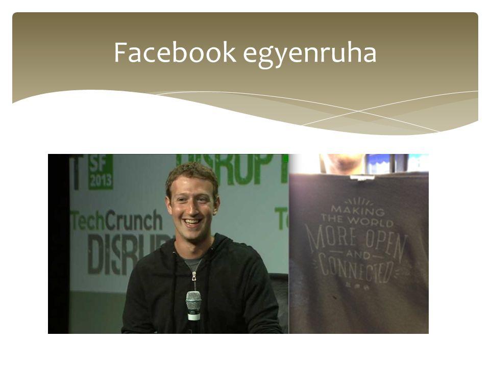 Facebook egyenruha