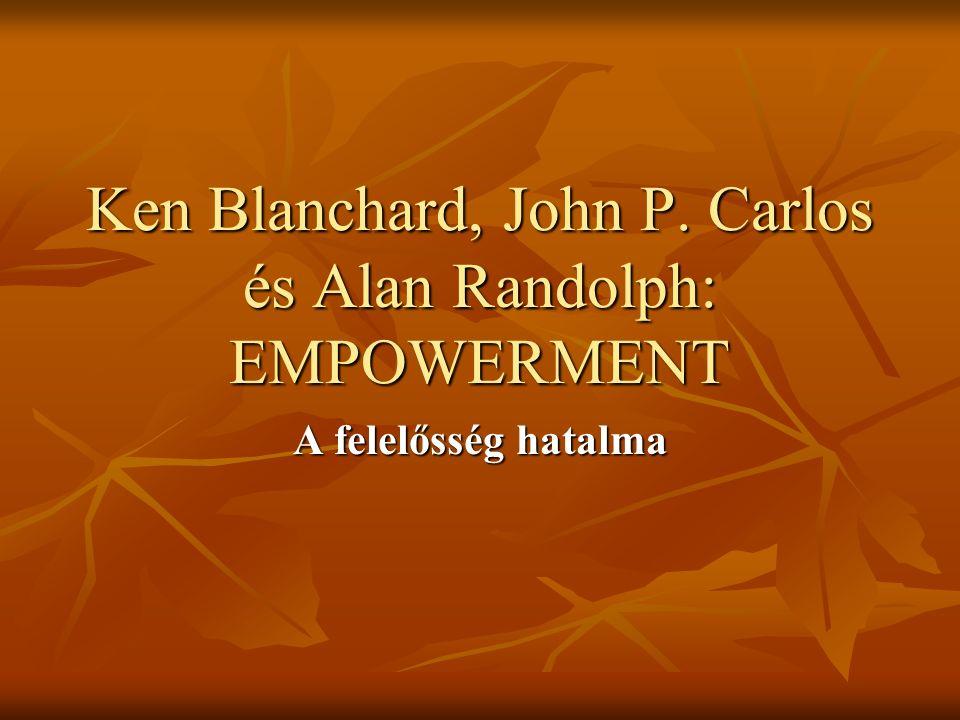 Ken Blanchard, John P. Carlos és Alan Randolph: EMPOWERMENT A felelősség hatalma
