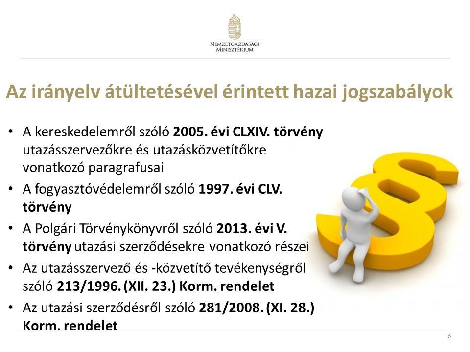 6 A kereskedelemről szóló 2005. évi CLXIV.