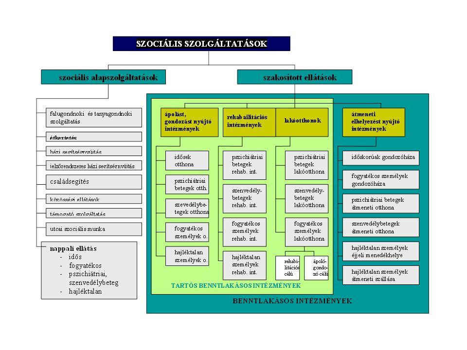 A közösségi/alacsonyküszöbű ellátások új finanszírozási rendszere 2009-től Szociális törvény 131/A.