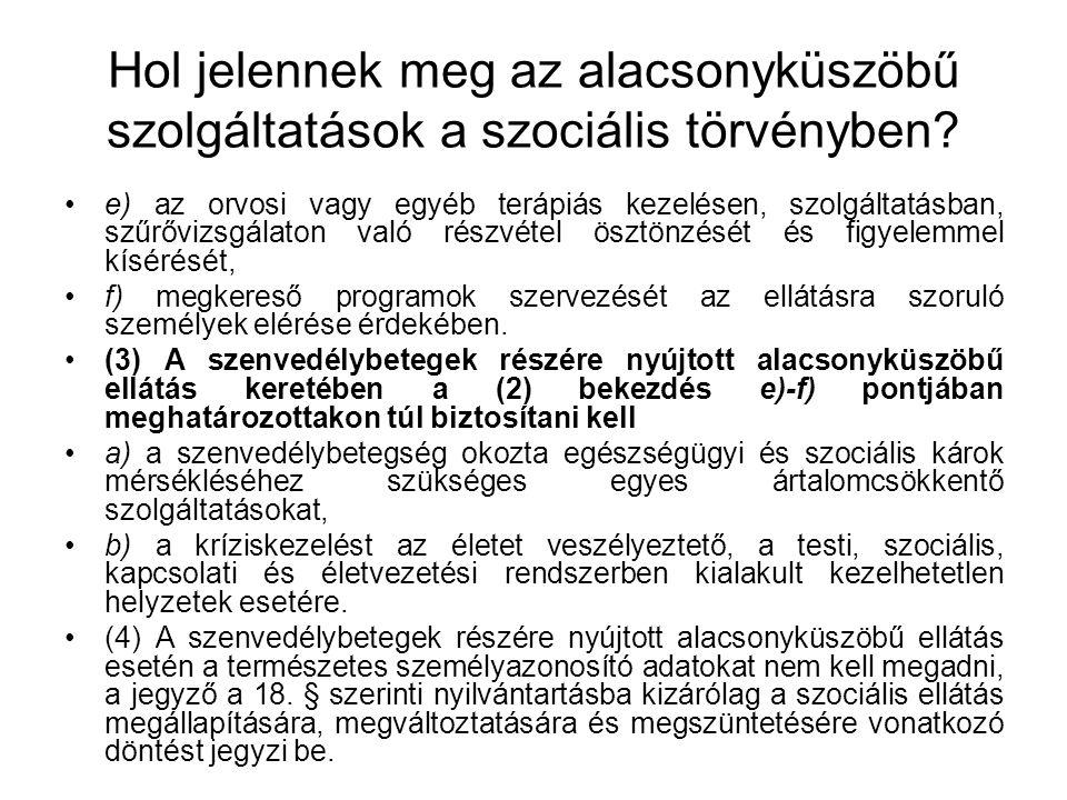 Az 1/2000.(I.7.) SzCsM rendelet szabályai 39/J.