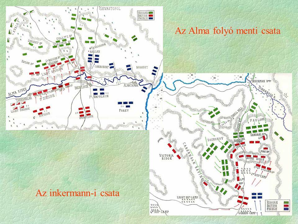 Az inkermann-i csata Az Alma folyó menti csata