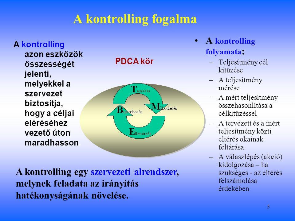 16 A hagyományos angolszász rendszer