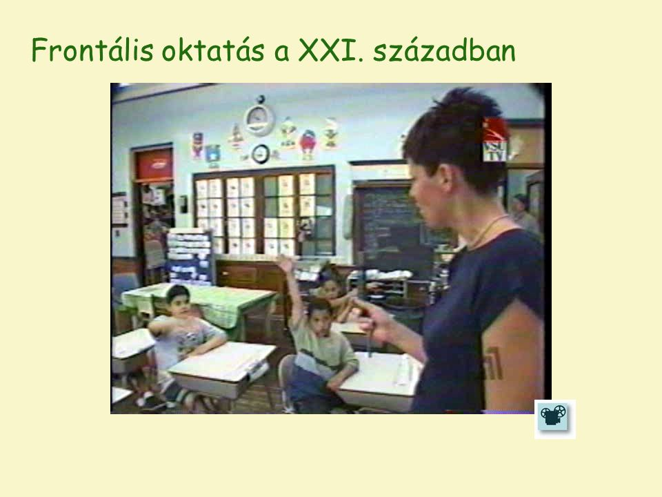 Frontális oktatás a XXI. században