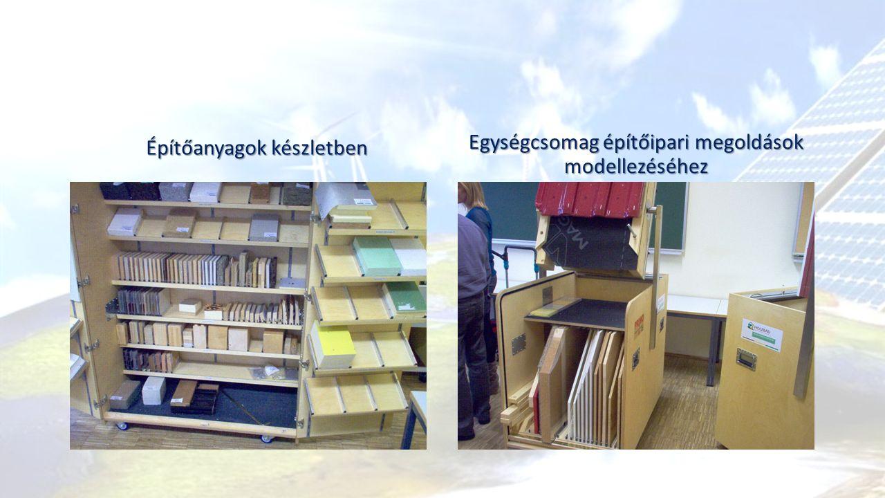 Építőanyagok készletben Egységcsomag építőipari megoldások modellezéséhez