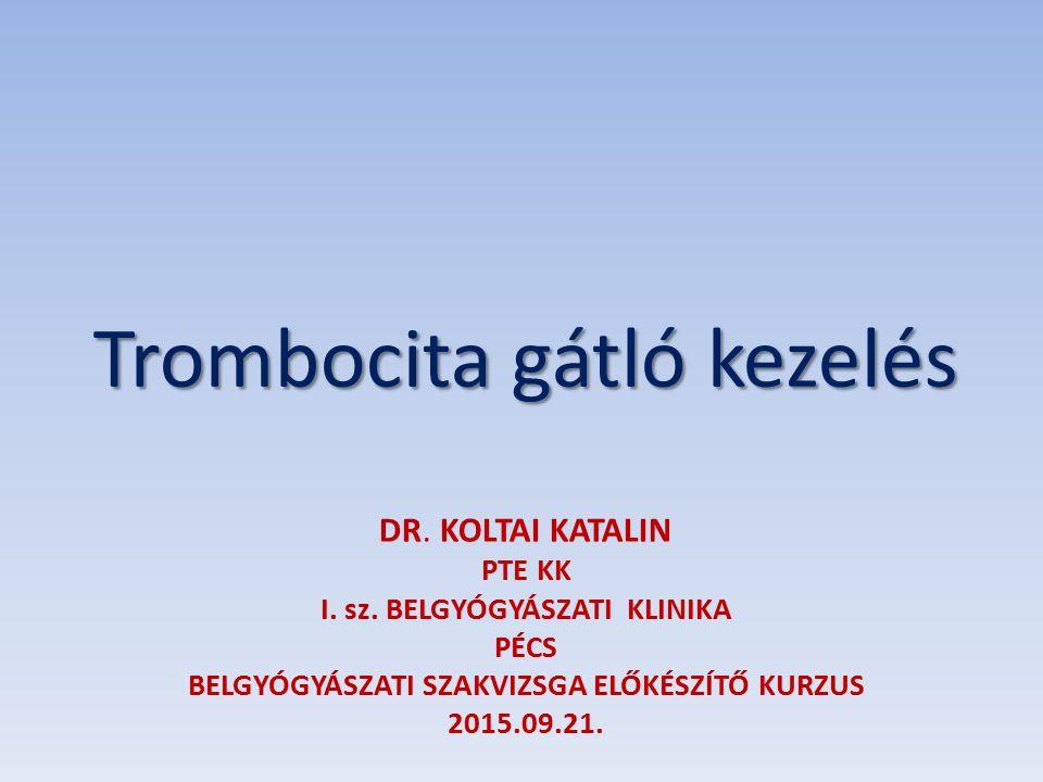 DR. KOLTAI KATALIN PTE KK I. sz.