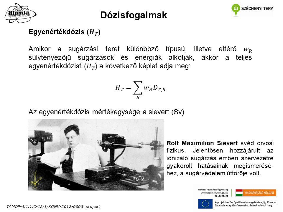 TÁMOP-4.1.1.C-12/1/KONV-2012-0005 projekt 36 Rolf Maximilian Sievert svéd orvosi fizikus.