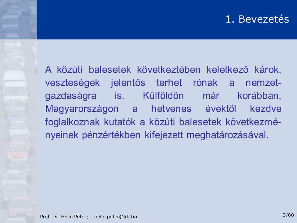 Prof.Dr. Holló Péter; hollo.peter@kti.hu 4/60 1.