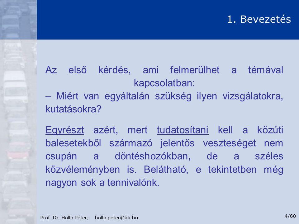 Prof.Dr. Holló Péter; hollo.peter@kti.hu 5/60 1.
