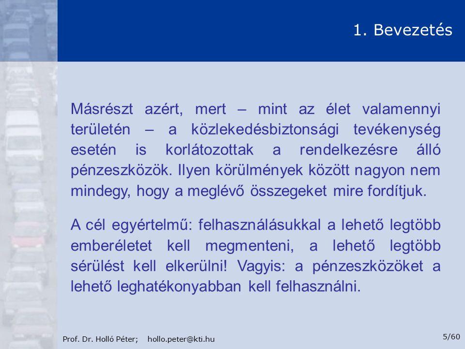 Prof.Dr. Holló Péter; hollo.peter@kti.hu 6/60 1.