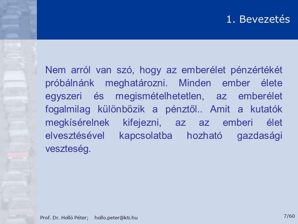 Prof.Dr. Holló Péter; hollo.peter@kti.hu 8/60 1.
