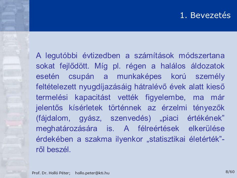 Prof.Dr. Holló Péter; hollo.peter@kti.hu 9/60 1.