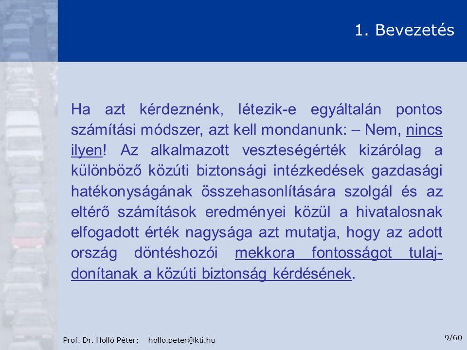 Prof.Dr. Holló Péter; hollo.peter@kti.hu 10/60 1.